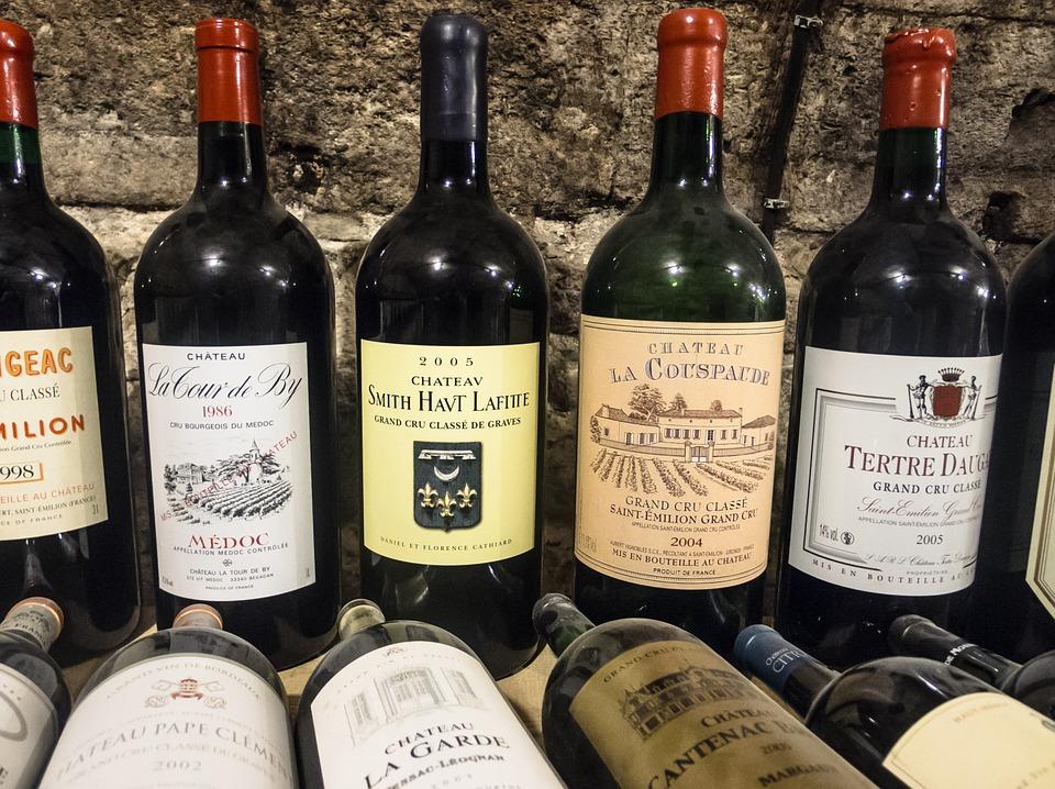 Bordeaux Weine